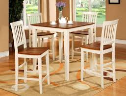 Kitchen Bar Table Tall Round Dining Table Small Kitchen Table Set Counter Height