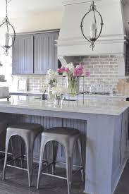 Brick Backsplash Kitchen Best 10 Kitchen Brick Ideas On Pinterest Exposed Brick Kitchen