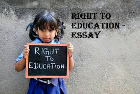 rte essay short note on right to education act essay on education rte essay right to education essay