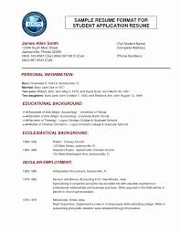 Normal Resume Format Download Best Of 100 Resume Format Word