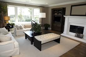 Tan Couch Living Room Ideas Floral Painting Design Brown Wall Color Grey  Fabric Windows Valance Cone