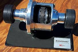 the locking differential explained cutaway model of a detroit locker