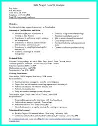 Qualification Sample For Resume Data Scientist Resume Include Everything About Your