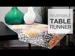 10 Minute Table Runner Pattern Amazing How To Sew A Reversible Table Runner Tutorial YouTube