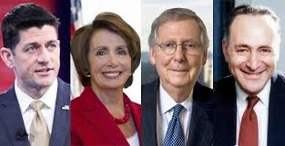 Image result for mcconnell/schumer/ryan/pelosi