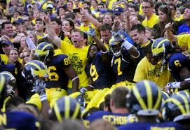 Image result for michigan fans yelling
