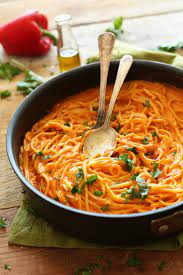 Hellmann's real mayonnaise, pasta, parmesan, capers, yoghurt and 2 more. Recipe Low Cholesterol Red Pepper Pasta