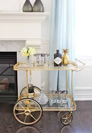 Tremendous I Was Obsessed Along With Am Dolce Vita Vintage Bar Cart Styling  Then Se in