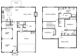 great room floor plans awesome 2 family house plans elegant 4 bedroom 2 story house floor