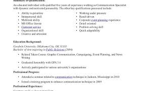 skills possessed resume template enjoyable communication skills phrases excellent