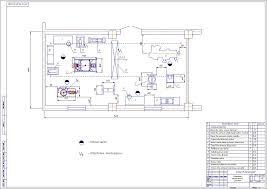 Повышение качества работы участка по ремонту агрегатов на АТП Генеральный план предприятия · Зона текущего ремонта чертеж