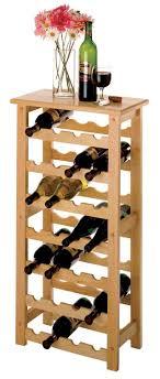 Amazon.com - Winsome Wood <b>28</b>-Bottle <b>Wine Rack</b>, Natural ...