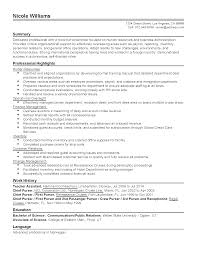 Professional Resume For Michelle Cook My Perfect Resume
