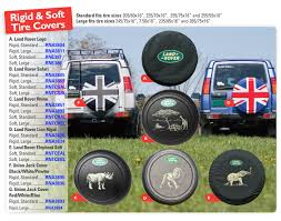 land rover discovery ii tire covers