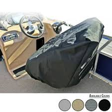 pontoon boat seat cover captain s chair
