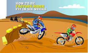 Mxa Training Tips How To Be Factory Rider Fit In Six Weeks