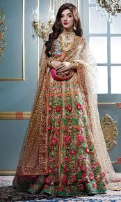 Famous Bridal Designers Pakistan Nomi Ansari Beautiful And Stylish Bridal Pakistani Wear
