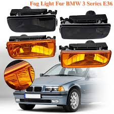 E36 Fog Light Lens Us 29 82 21 Off Replacement Fog Lights Lamps Crystal Lens For Bmw 1992 1993 1994 1995 1996 1997 1998 E36 3 Series R L Abs Plastic Car Styling In Car