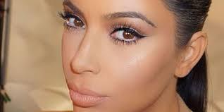 kim kardashian natural makeup look 2016