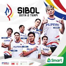 "🇵🇭SIBOL on Twitter: ""The #SIBOLesportsPH Dota 2 Roster for the 2019  Southeast Asian Games. 🇵🇭 Marvin Salvador ""Boomy"" Rushton John Anthony  ""Natsumi-"" Vargas Bryle Jacob ""cml"" Alvizo Jun ""Bok"" Kanehara Mc Nicholson """