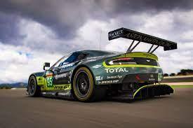 Aston Martin V8 Vantage Gte Aus Der Wec Im Tracktest Auto Motor Und Sport