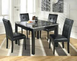 black granite kitchen table dining granite dining table top with rectangle shape plus black leather dining chairs black granite round kitchen tables