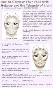 how to contour your face with makeup and the triangle of light beauty makeup beauty makeup makeup contour makeup