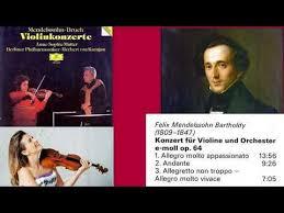 Felix <b>Mendelssohn</b>: Violin Concerto in E minor, Op.64, <b>Anne</b>-<b>Sophie</b> ...
