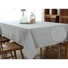 dining room table cloth. Ultrashang Grey Linen \u0026 Cotton Coffee Table Cloth Wipe Clean, Rectangle Waterproof Linen, Tablecloth For Dining Room Kitchen Hotel Cafe Restaurant