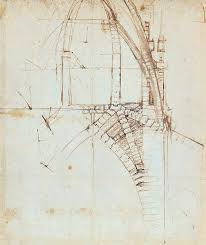 Profile of a warrior in helmet. Leonardo Da Vinci Der Architekt Parkstone Art
