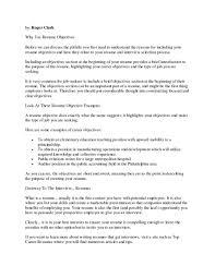Writing Resume Objective Writing Resume Objective Fungramco 47