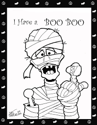 Free Halloween Coloring Pages The Sun Flower Pages