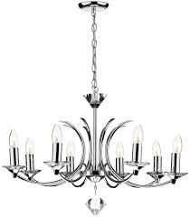 dar medusa modern 8 light dual mount chandelier chrome med0850 pertaining to brilliant residence modern chrome chandelier prepare