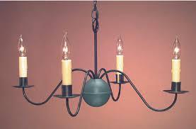 hammerworks antique home chandeliers handmade in tin finish ch114