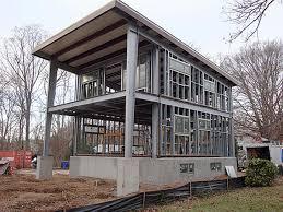 Prefab A Frame House Ecosteel Prefab Homes Green Building Steel Framed Houses