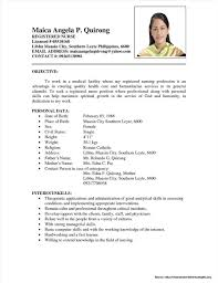 Resume Examples 2017 Philippines Resume For Study