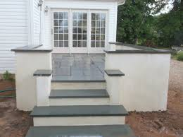 Cinder Block Stairs Block Work Stuccocementnormal Masonry Devine Escapes