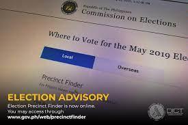 Elections Precinct Finder website goes ...