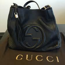 gucci bags soho. 🚫🚫sold🚫🚫gucci soho black shoulder bag / tote gucci bags t