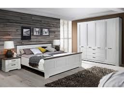 Schlafzimmer Gaston 69 Weiß Grau 4 Teilig Seniorenzimmer Schneeeiche