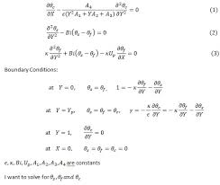 partial diffeial equations