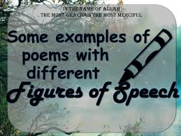 some examples of poems poetry different figures of speech alli