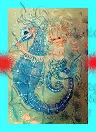 Best 25+ Mermaid quilt ideas on Pinterest | Ocean quilt, Reuse ... & Fairy Tale Mermaid Merbaby Fabric Block for Quilting 5 x 7 Adamdwight.com