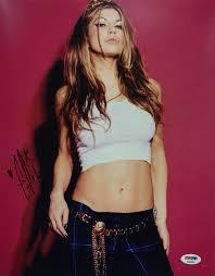 Fergie* Duhamal Signed 11x14 Photo *Black Eyed Peas PSA AB92805 - Sports  Authentics USA