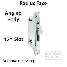 sliding glass door lock replacement rite mortise lock slot auto lock sliding patio door angled sliding glass door lock replacement