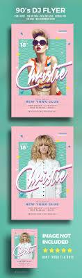 best ideas about creative flyers summer poster 90 s dj flyer