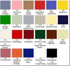 Krylon Spray Paint Color Chart Super Spray Paint Part 1 Krylon Just Paint It Blog