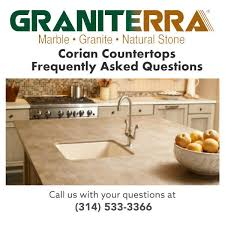 corian countertops faq frequently asked questions
