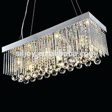 chandelier drop crystals rectangle rain drop crystal chandelier clear crystal pendant light lamp modern contemporary lighting chandelier drop crystals