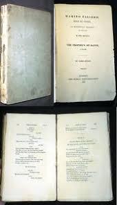 1821 BYRON MARINO FALIERO DOGE OF VENICE & PROPHECY OF DANTE | eBay